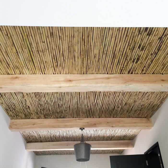 Square Beams & Ceiling